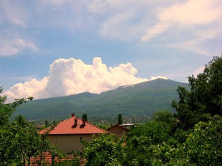Thunderheads above Vitosha