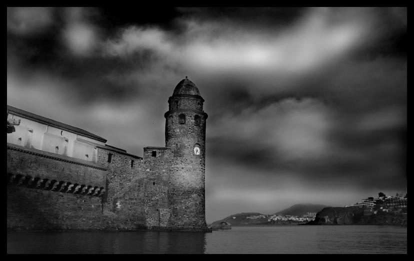 noire et blanc ˆ Collioure