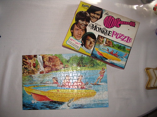 Monkees puzzle front