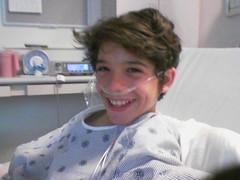 Andrew in Hospital