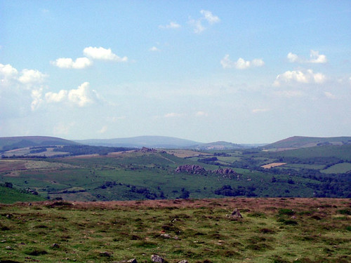 North from Hay Tor