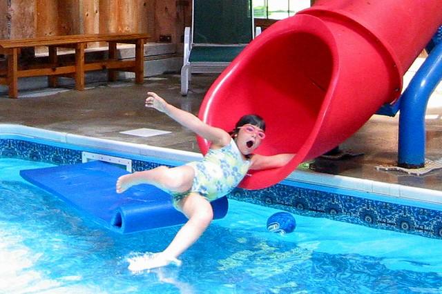 The Water Slide Queen