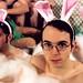 bunny bath (1) by pixietart