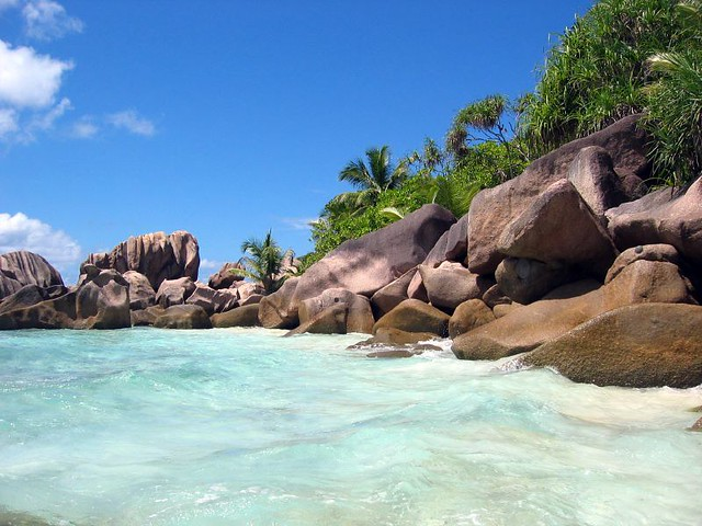 пляж Anse Cocos