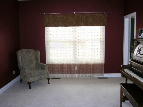 living room (future office)