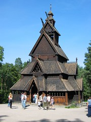 Stave Church at Folk Museum, Oslo