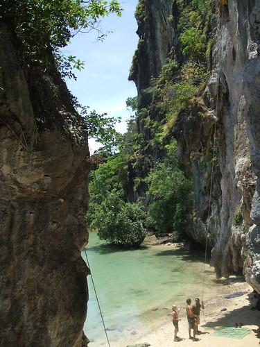 thailand, railay, rock climbing DSCF0373