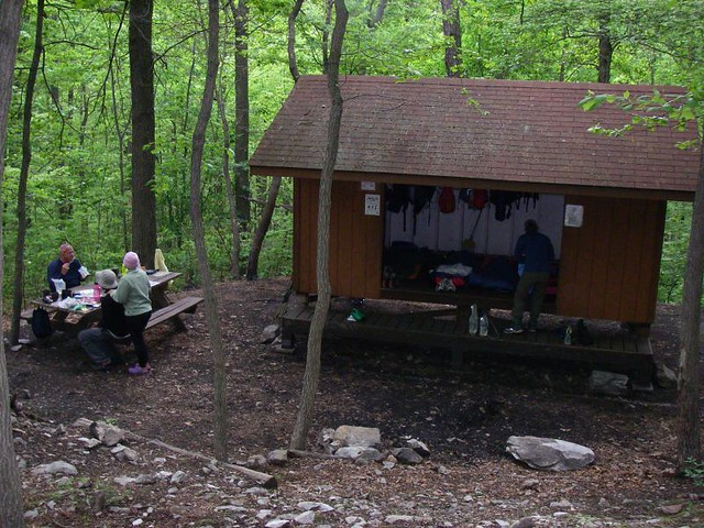 Join. agree deer lick shelter on appalachian trail with