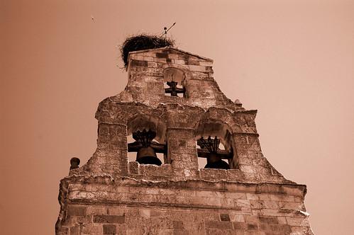 La torre de la iglesia (sepia)