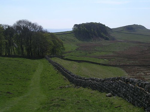 Looking back towards Housesteads