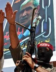 Hamas Member Makes Nazi Salute