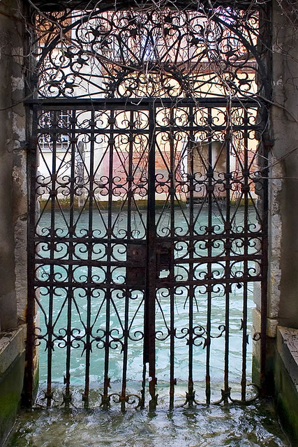 Garden Gate, San Giorgio dei Greci, Venice | Flickr - Photo