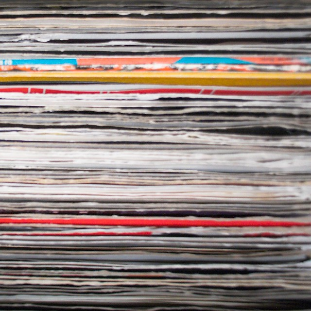 House music record stacks flickr photo sharing for House music records