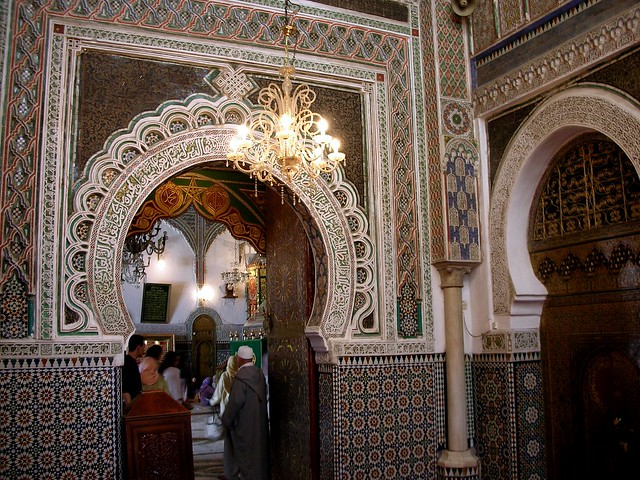 Fes - Medina - Mosque Interior 2