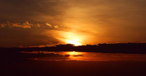sunset sky nature cirrus altostratus