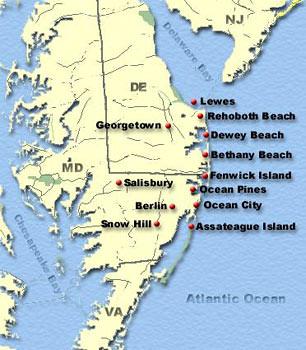 DelMarVa Map  Flickr  Photo Sharing