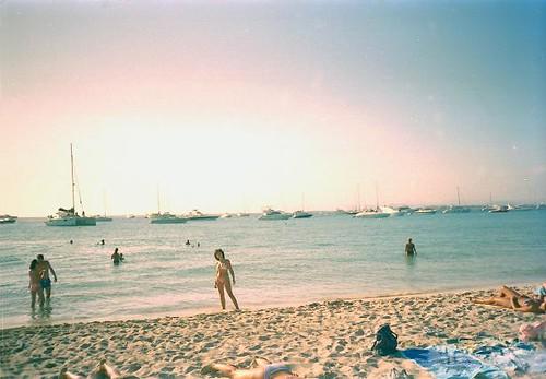 FORMENTERA. Island near Ibiza, the Spanish Caribbean / Isla cerca de Ibiza, el Caribe español