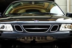 saab 9-4x(0.0), vehicle registration plate(0.0), automobile(1.0), automotive exterior(1.0), sport utility vehicle(1.0), vehicle(1.0), automotive design(1.0), grille(1.0), saab automobile(1.0), bumper(1.0), land vehicle(1.0), motor vehicle(1.0),
