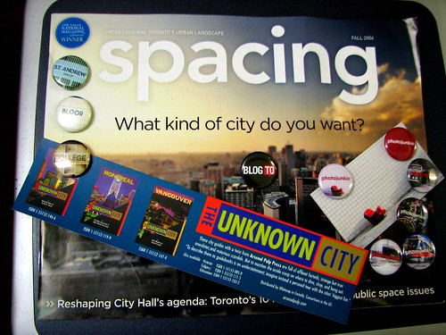 WotS Blogging Toronto Swag