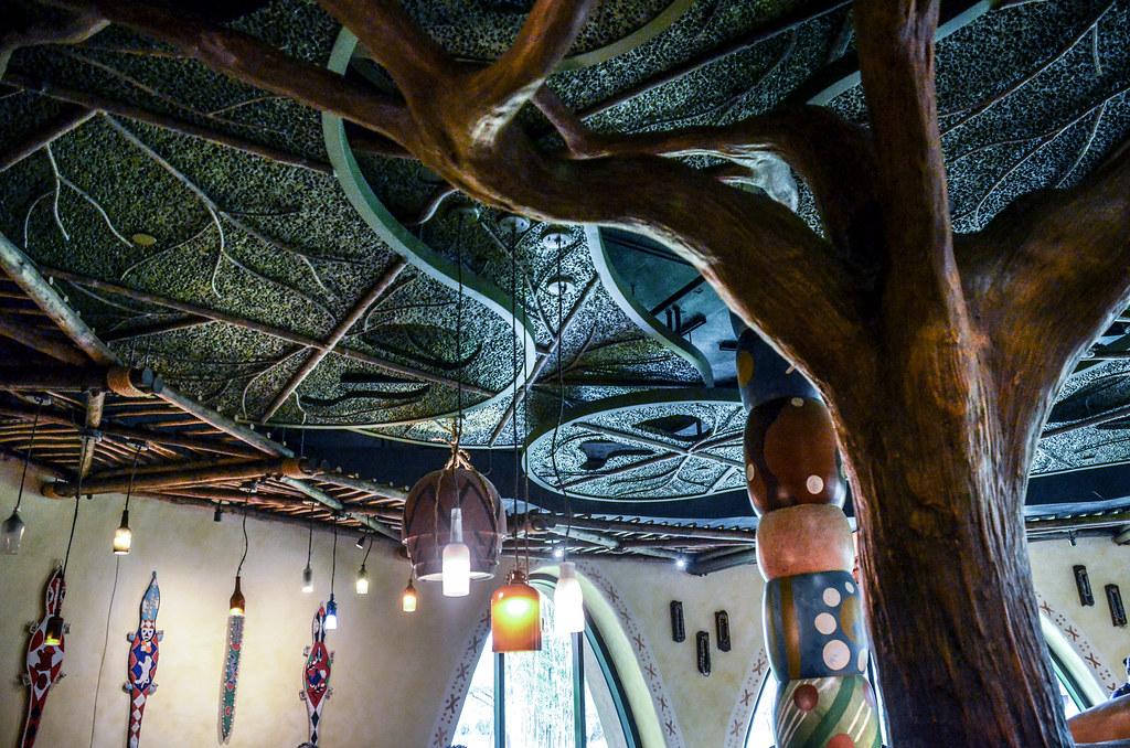 Sanaa ceiling