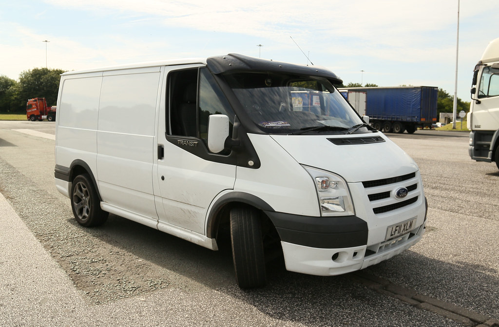 Ford Transit Sunvisor Wigan Tipper LF11XLM Frank Hilton 24062015 024 6214d5e59dc