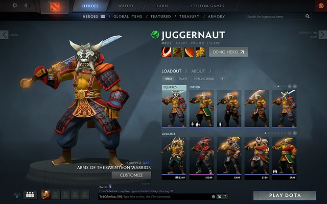 Juggernaut Arms of the Gwimyeon Warrior