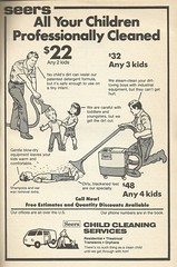 Have your children professionally cleaned, 1983