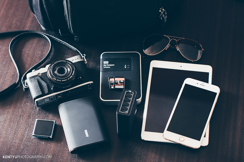 What's in my camera bag? Some of my Travel Essentials