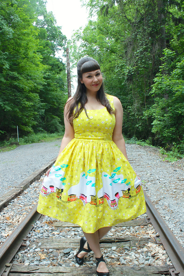 pinup girl clothing mary blair train dress