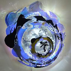 Miri Chais, Rabbit Hole  Black,  2013, 15 x 14 x 2 inch
