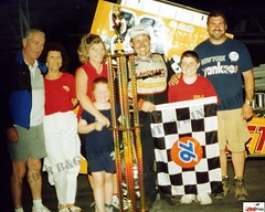 Russ Wood 2003 Hy-Miler Supermodified Nationals Winner