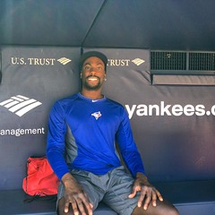 July 12, 2015 - 19:15 - In the dugout at Yankee Stadium.