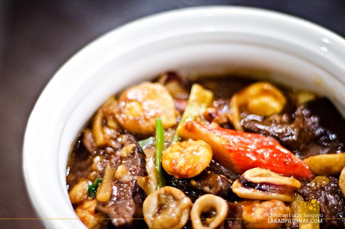 Rosenda's Cabanatuan Seafood Caserole