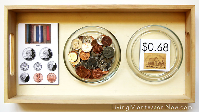 Pioneer Town Store Money Activity