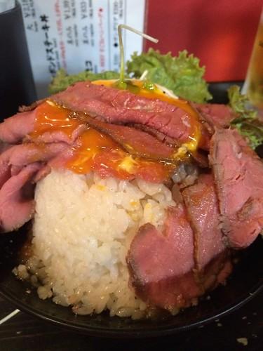 レッドロック_ローストビーフ丼