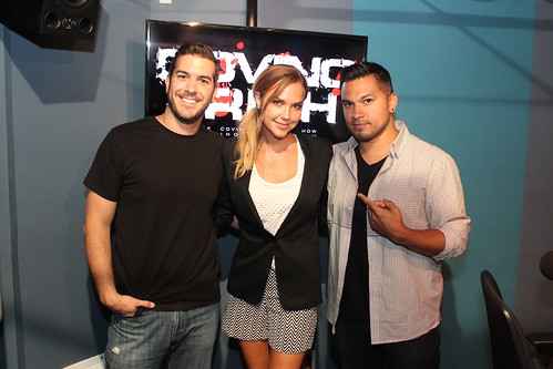 Arielle Kebbel on the Covino & Rich Show