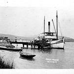 Woy Woy at Brick Wharf, Woy Woy, Brisbane Water, Central Coast before 1910