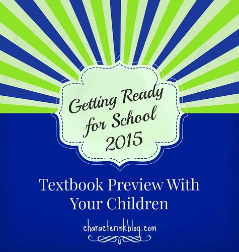 Getting Ready For School 2015 - Textbook Preview With Your Children