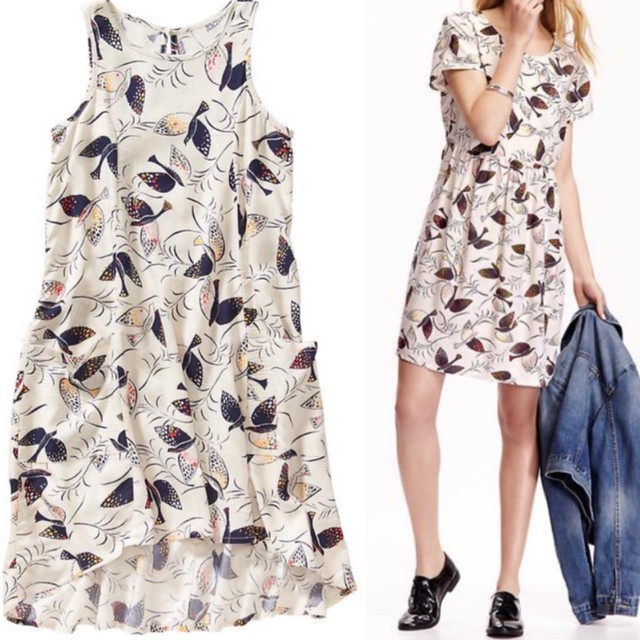 Old Navy Bird Print Dresses