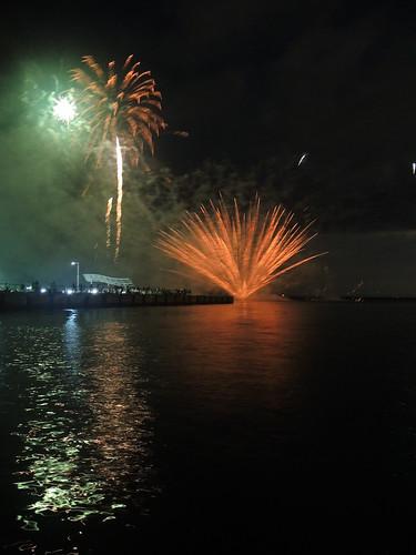 Fireworks at Wakkanai on AUG 02, 2015 (18)