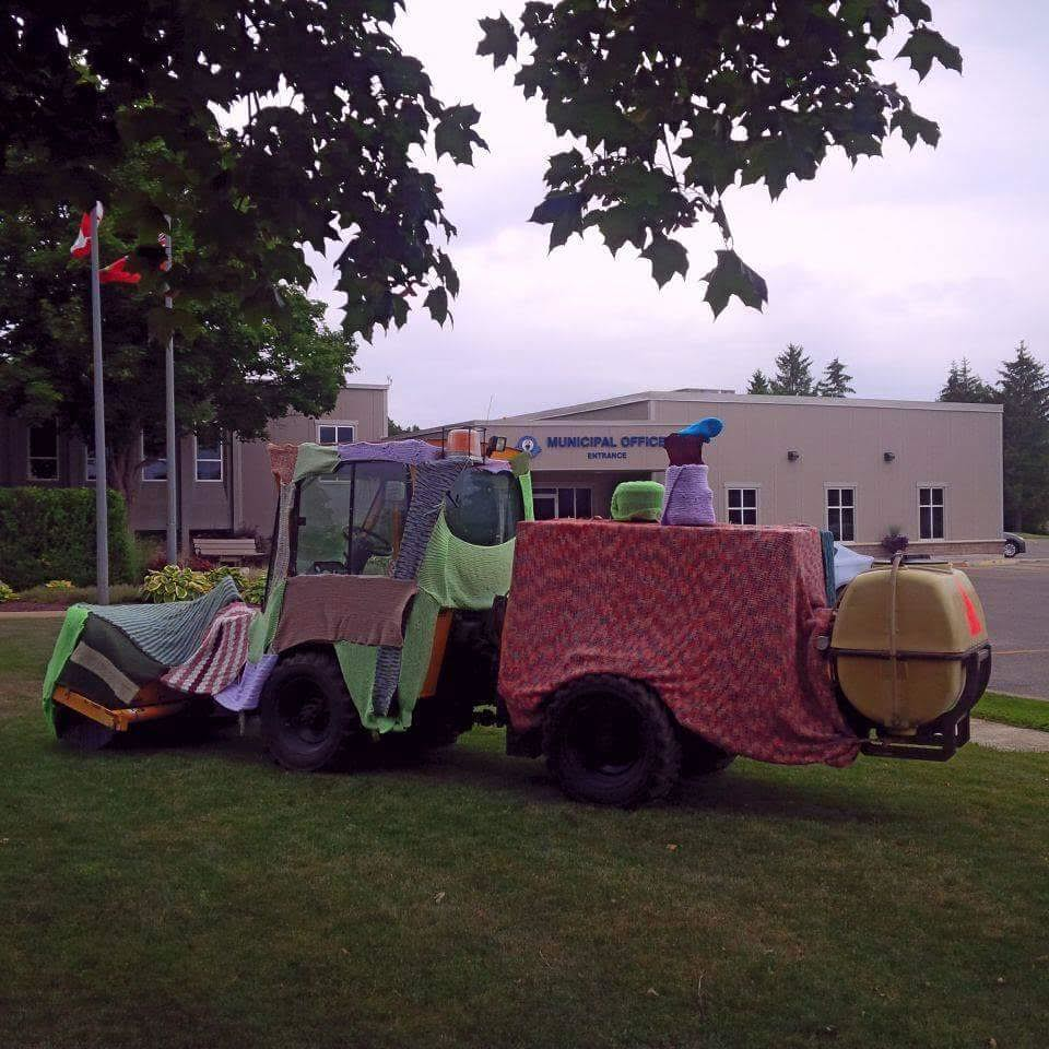 Litowel Yarn Bomb 2015