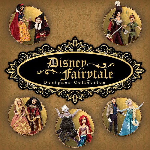 Disney Fairytale Designer Collection: Heroes and Villains Dolls