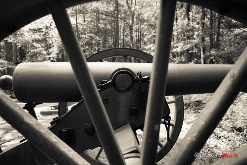 Civil War Canon - Kennesaw Mountain-1