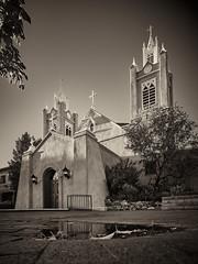 San Felipe de Neri Church in Old Town, Albuquerque, NM