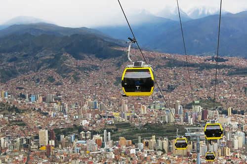 Bolivia's World's Longest Cable Car