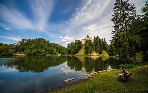 castles landscapes lakes croatia hrvatska trakošćan hrvatskozagorje zagorje nikond600 castletrakošćan laketrakošćan sigma12244556 lakescasstles