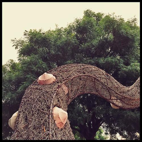 Iron Age. #taiwan #nantou #caotun #台灣 #南投 #草屯 #sculpture #art