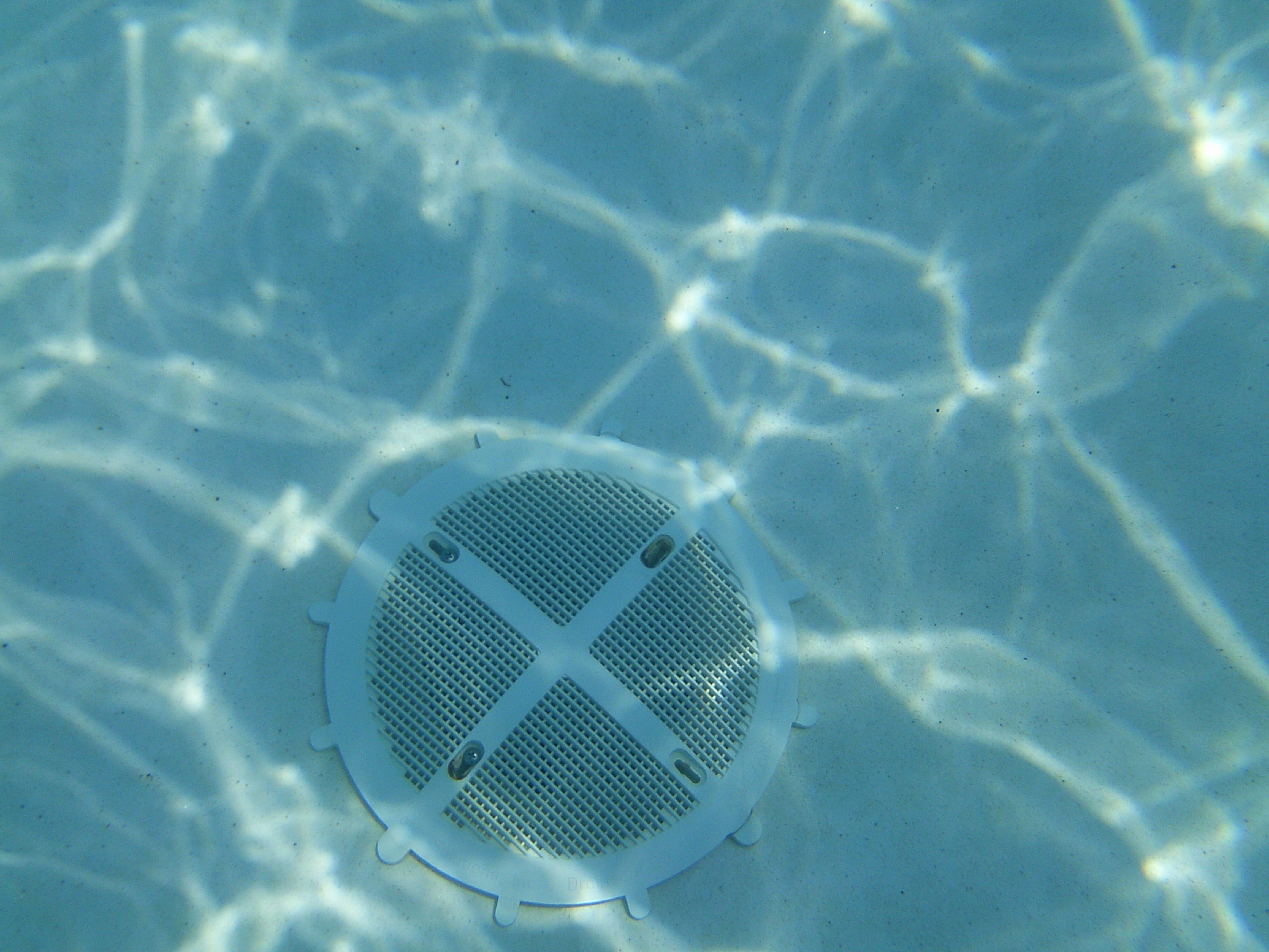 Pool Filter Underwater