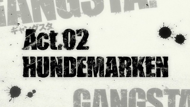 Gangsta ep 2 - image 01
