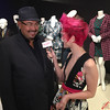 Salvador Perez & Jessie Pridemore at the Outstanding Art of Television Costume Design Exhibition - IMG_2617 by RedCarpetReport